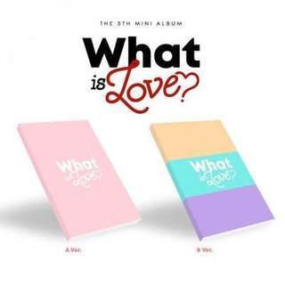 [PRE-ORDER] TWICE WHAT IS LOVE ALBUM