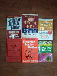 Personal development and business book