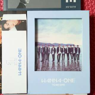 WTS WANNA ONE TBO Album Sky Ber