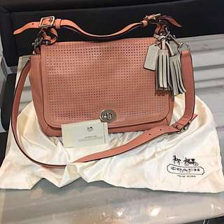 Price reduced! Coach Bag in Coral