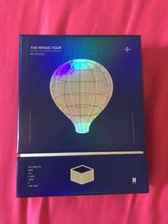 [SALE] BTS The Wings Tour in Seoul Final DVD