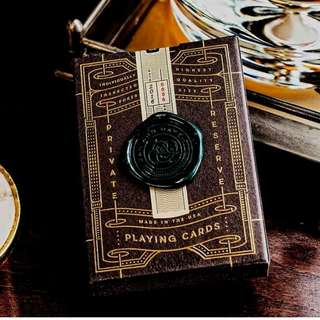 Private Reserve Playing Cards by Dan and Dave