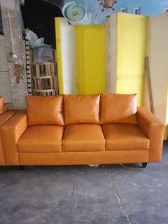 Sofa 3 Seater Minimalis Syntetic