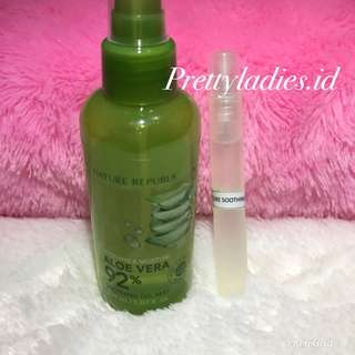 Nature Republic Soothing & Moisture Aloe Vera 92% Soothing Gel Mist Share