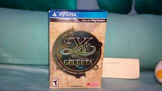 YS Memories of Celceta Silver Anniversary Edition PS Vita