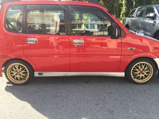 Japan Move Rs Side Skirt For kenari Kelisa