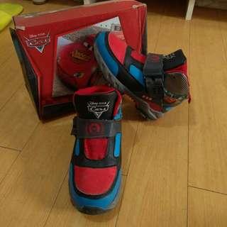 Disney Cars Shoes Mcqueen Kids Shoes Rubbershoes Girl Boy
