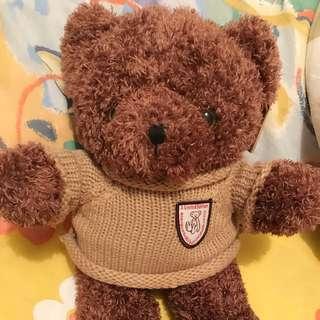 Russ The Boo Crew Bears小熊毛公仔