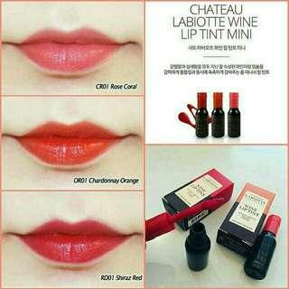 Chateau Labiotte Wine Lip Tint Mini 3gr.