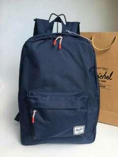Herschel Settlement Backpack Bag Blue For Sale