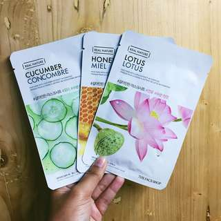 [The Face Shop] Real Nature Sheetmask