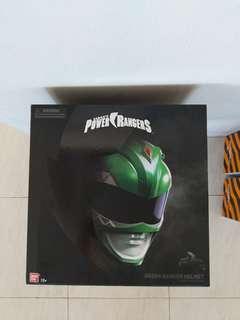 First shipment arrived green ranger helmet