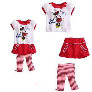 Girl Minnie Set 3pcs
