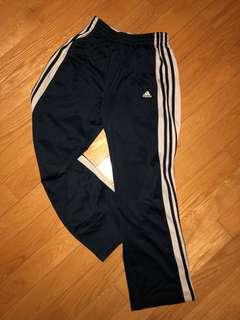 Adidas 3 Stripe Navy Track Pants