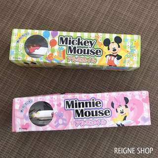 MICKEY AND MINNIE MOUSE FOIL