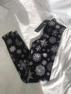 Black Milk snowflake leggings