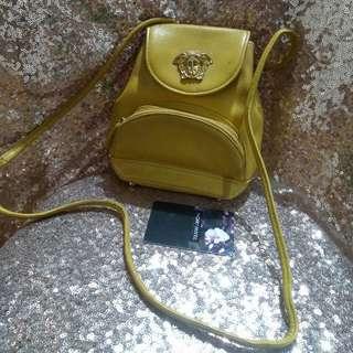 Authentic VERSACE Sling Bag Body Bag OOTD Yellow Bag