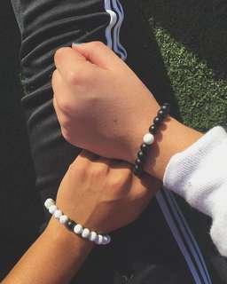 Distance Couple Bracelet (Pair)