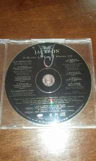 Mega Rare Michael Jackson History Lifestyle Promo CD single original USA pressing used ESK 7190