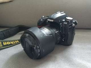 Nikon D300連原廠18-200mm鏡