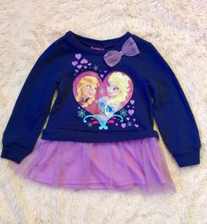EUC Disney Frozen tutu dress