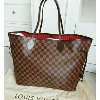 Lv neverfull (genuine leather❤👍😍💯)
