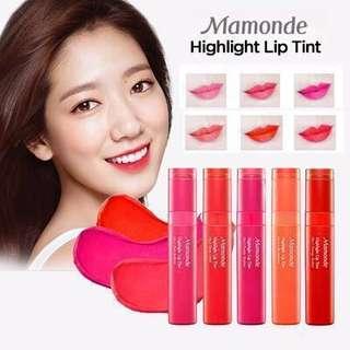 Mamonde Highlight Lip Tint # 1, 6, 9