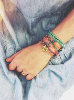 Set of bracelets | Resort love