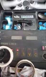 High speed/on wheel balancing