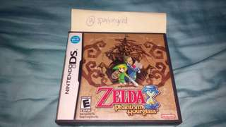 Zelda Phantom Hourglass Nintendo DS