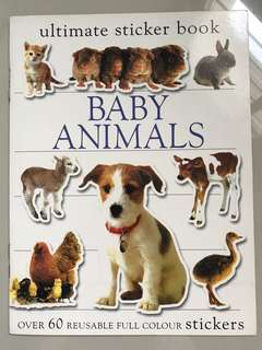 BN Ultimate Sticker Book - Baby Animals