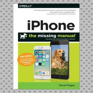 ebook iPhone The Missing Manual The book that should have been .
