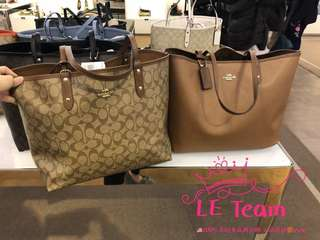 (Pre-order)US Coach Reversible Tote,Special Price,Est.indent 4-6 Weeks Can Collect It Upon Confirmation Order,Direct Courier From US. BEST PRICE OFFER (NON NEGOTIABLE)