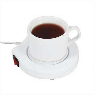 Electronic coffee warmer plug