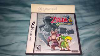 Zelda Spirit Tracks Nintendo DS