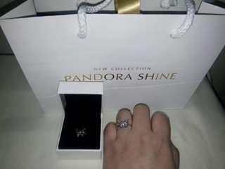 100% Guaranteed Authentic Pandora Ring