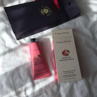 Crabtree and Evelyn lotion