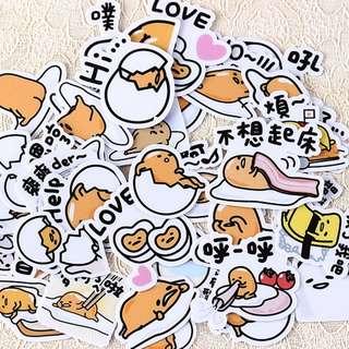 Gudetama Stickers