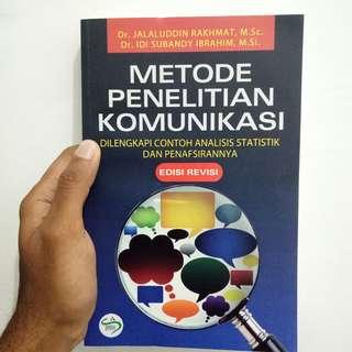 Buku Metode Penelitian Komunikasi