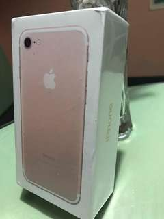 Rush sale iphone 7 brandnew sealed 28k only