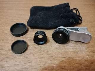 Fisheye & wide lens