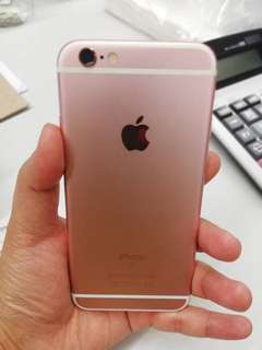 Iphone 6s 16gb Rose Gold - smart locked