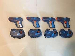 Laser Gun Laser Tag (set of 4)
