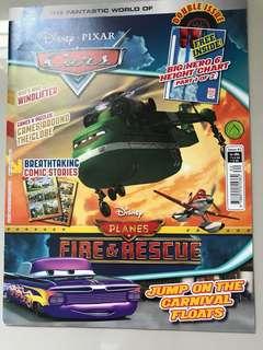 BN Disney Cars Magazine/Activity Book
