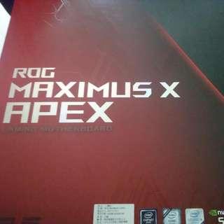 華碩 Maximus X  Apex
