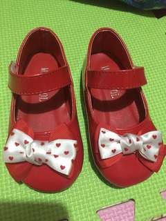 Baby Girl Red Shoes