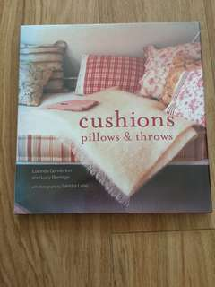 Cushion pillows and throws - coffee table book