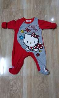 Preloved Baby Girl sleepsuits 0 to 3 months