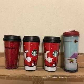 Starbucks星巴克隨行杯(4隻)