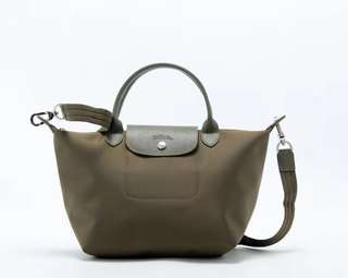 Mother's Day sale : longchamp 1515 la plaige neo medium size army green